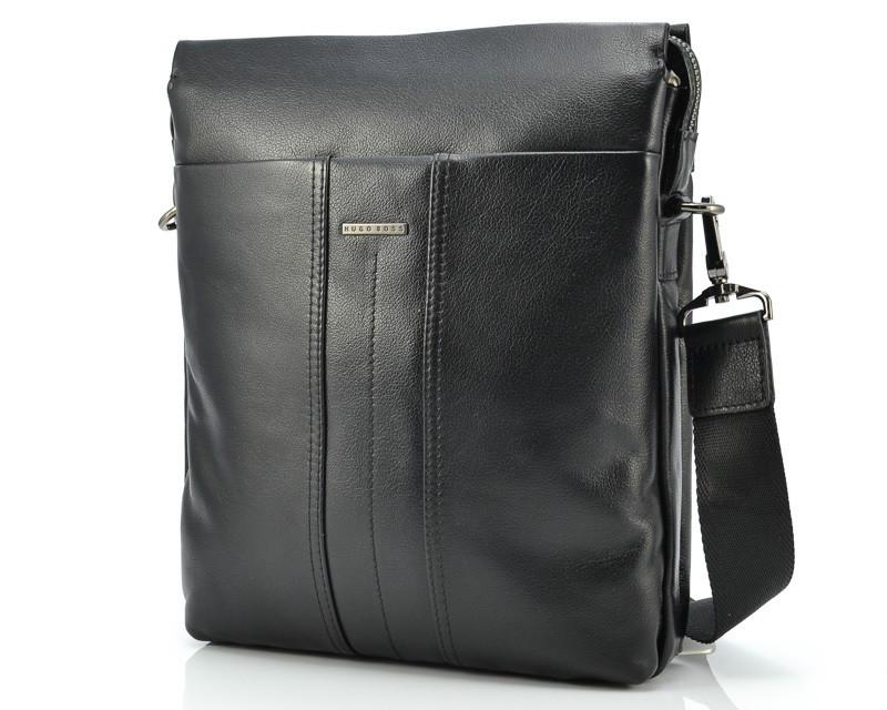 1246ab822a1f Мужская кожаная сумка Hugo Boss 313-2, цена 2 855 грн., купить в ...