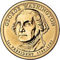 США 1 доллар 2007, 1-й президент Джордж Вашингтон