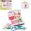 """Игрушечный набор """"Доктор"""": инструменты зубного врача в чемоданчике, дерево"""