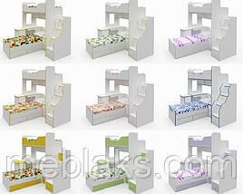 Двухъярусная кровать для детей и подростков «Челси», фото 3
