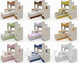 Двухъярусная кровать для детей и подростков «Челси», фото 2