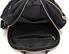 Рюкзак городской с золотыми заклепками, фото 5
