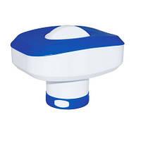Плавающий дозатор для хлорирования бассейнов Kokido Classic (табл. 75 мм) белый