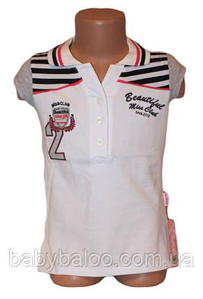 """Модная рубашка для девочки """"Polo""""(от 7 до 10 лет), фото 2"""