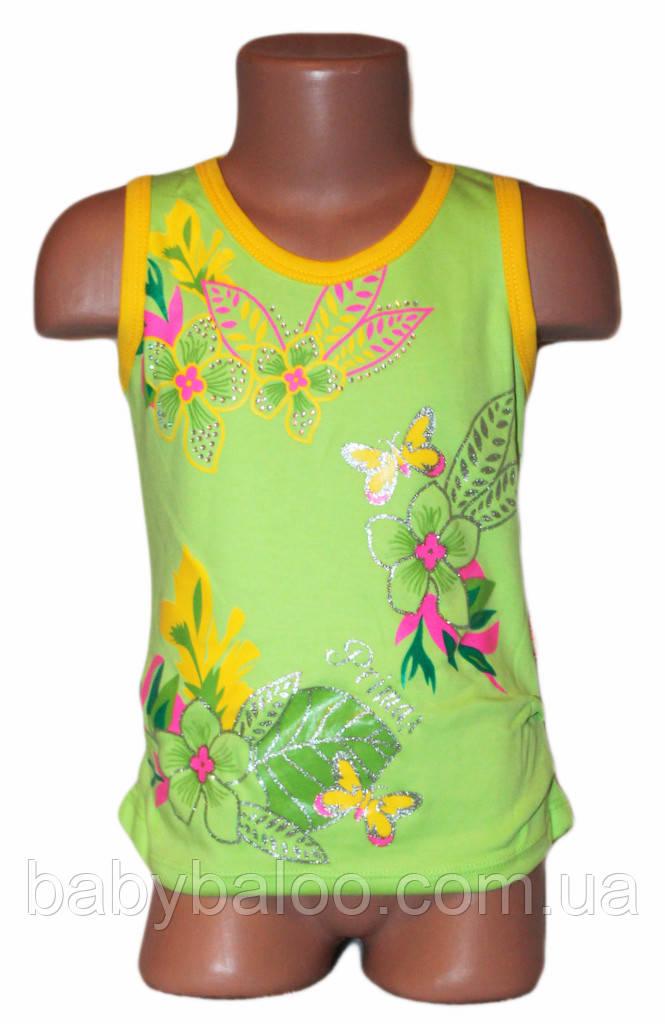 Майка для девочки цветная (рост от 92 см до 110 см)