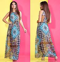 Платье длинное в расцветках 24832, фото 1