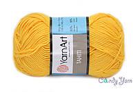 YarnАrt Tahiti желтый №220