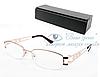 Очки женские для зрения с диоптриями +/-, антибликовые Код:723