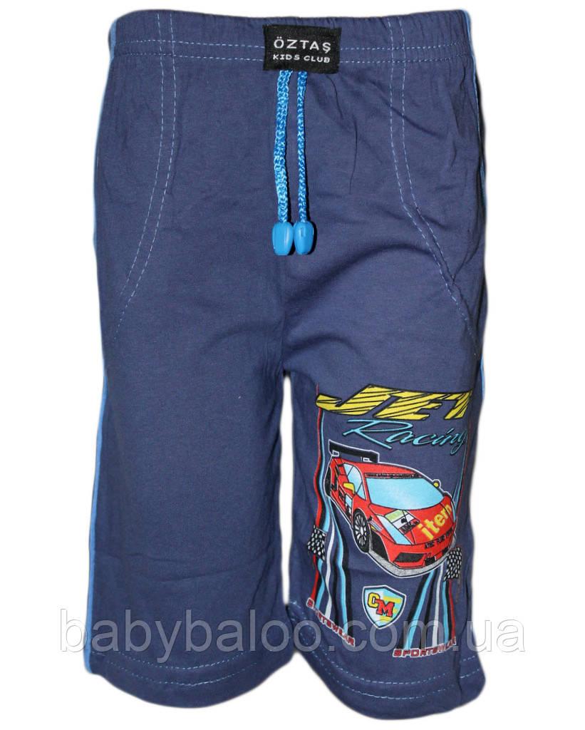 Капри кант для мальчика с карманом(от 4 до 8 лет)