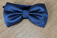 Мужской галстук бабочка, однотонная