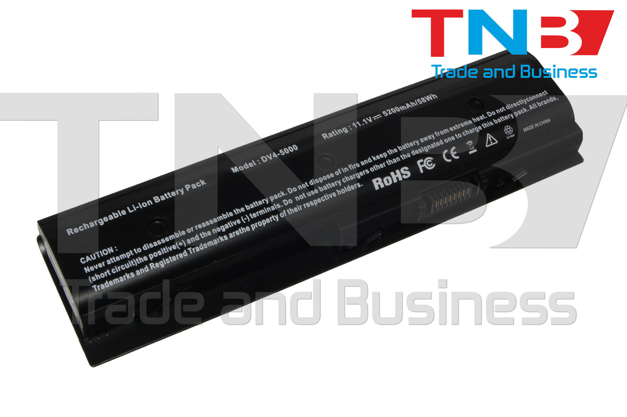 Батарея HP DV7-7206 DV7-7207 DV7-7208 11.1V 5200mA
