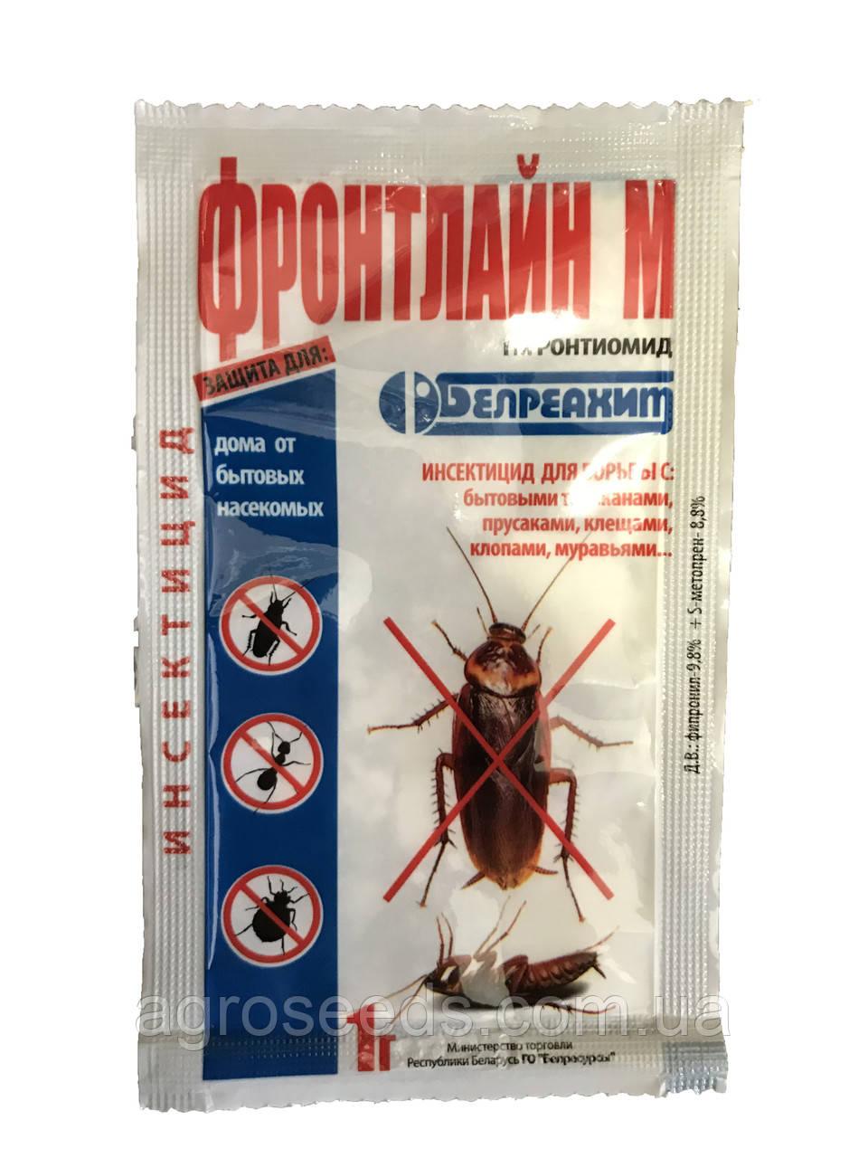 Средство от тараканов, блох Фронтлайн М 1 г