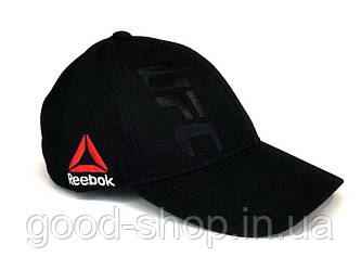 Спортивная кепка UFC черного цвета