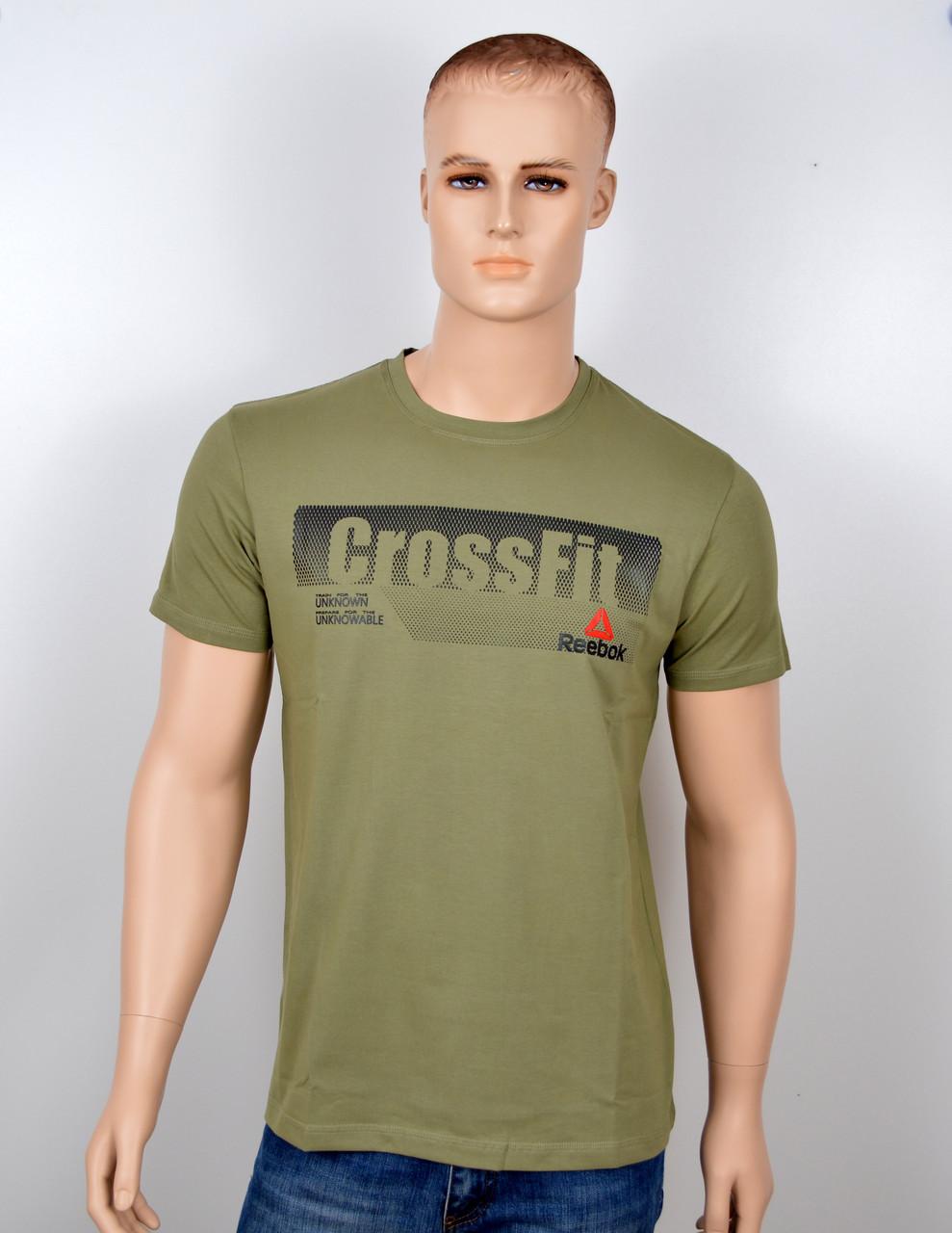 "Мужская футболка ""Reebok Crossfit"" хаки"