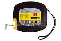 Рулетка Topex - 20 м х 12,5 мм, бобина, металлическая