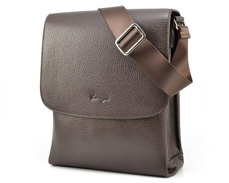Вместительная мужская сумка Karya 0724-39 (Турция)