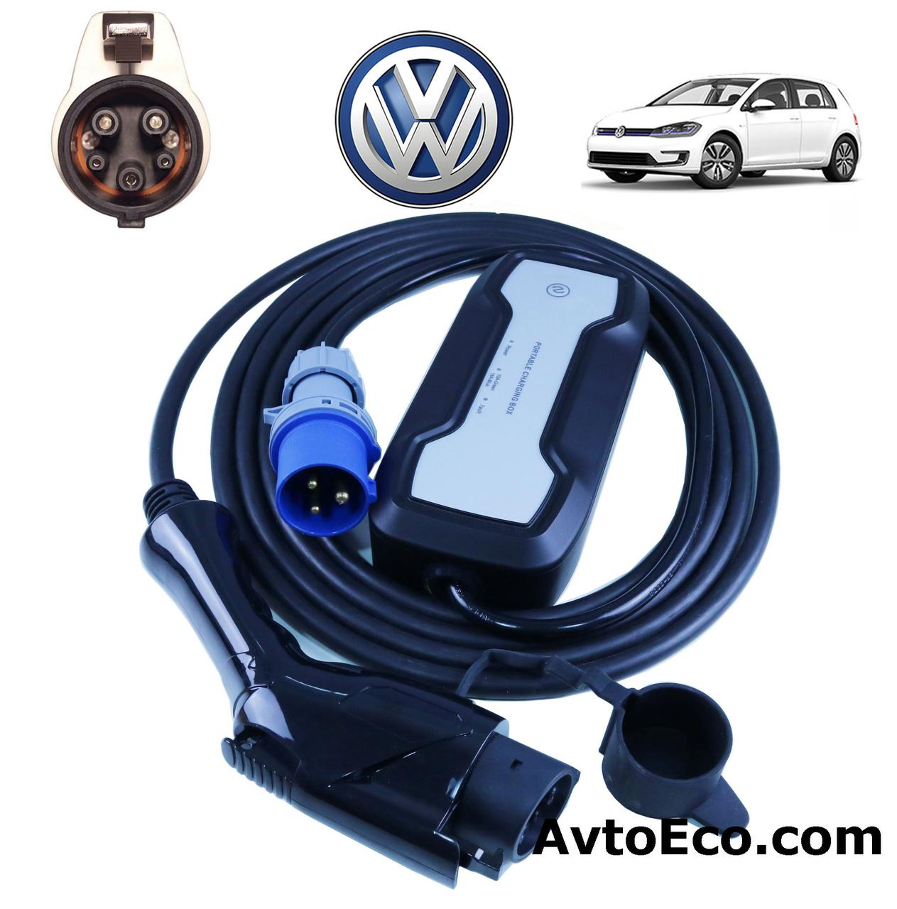 Зарядное устройство Besen для электромобиля Volkswagen e-GOLF J1772-16A