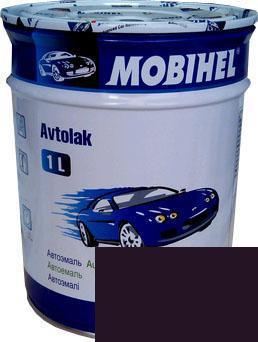Автокраска 107 Баклажан Helios Mobihel алкидная 1л