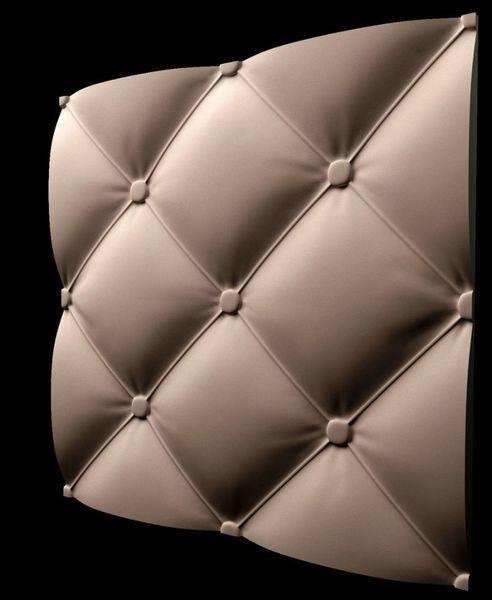 """Пластикова форма для виготовлення 3d панелей """"Ретро"""" 50*50 (форма для 3д панелей з абс пластику)"""