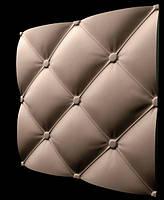"""Пластиковая форма для изготовления 3d панелей """"Ретро"""" 50*50 (форма для 3д панелей из абс пластика), фото 1"""