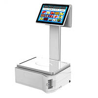 Aclas Touch Scale Model TS5X EC310P 10.1 & quot; Touchscreen Scale Thermal Printer Digitlás