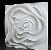 "Пластиковая форма для 3d панелей ""Роза"" 50*50 (форма для 3д панелей из абс пластика), фото 1"