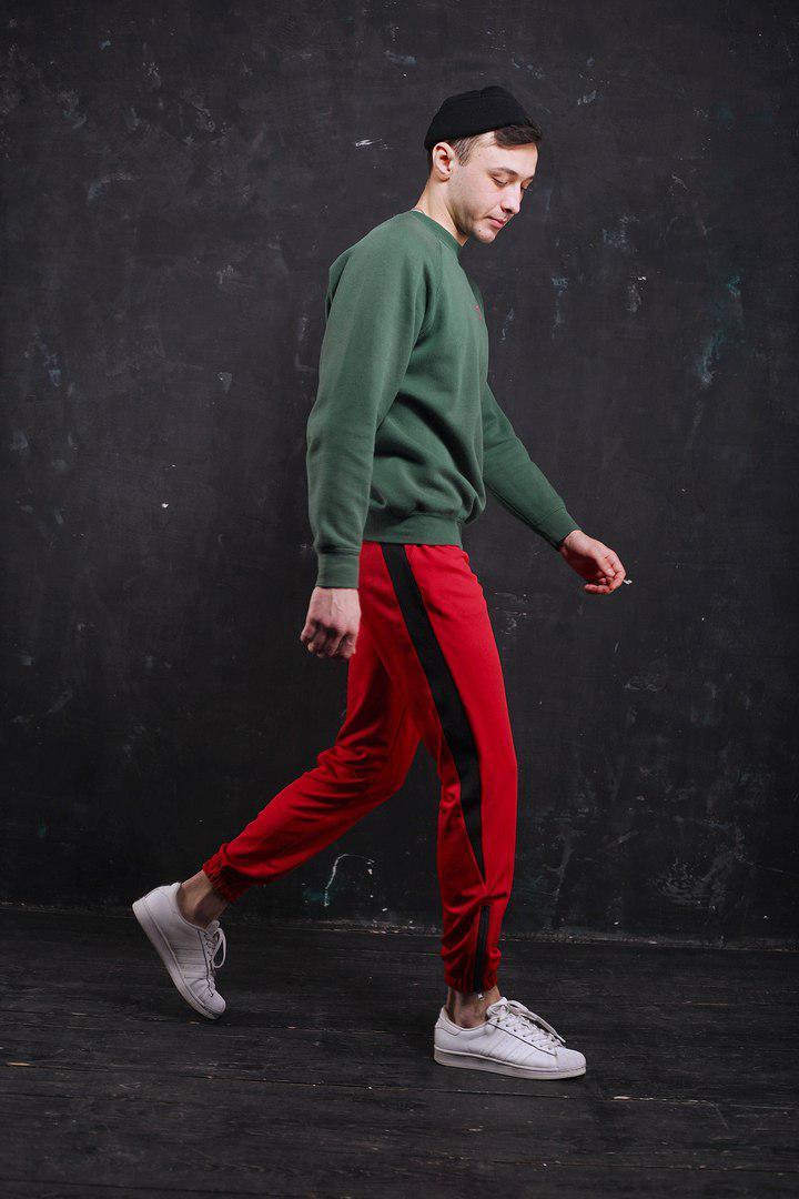 Спортивные штаны мужские Rocky (red)