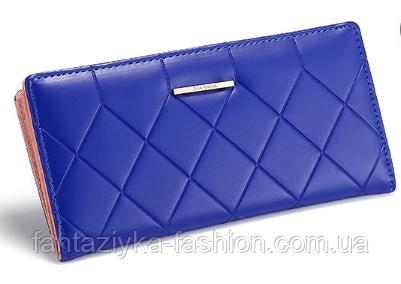Кошелек портмоне женский синий
