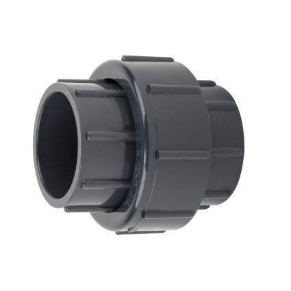 Aquaviva Муфта ПВХ Aquaviva разборная клей-клей, диаметр 90 мм.