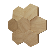 """Пластиковая форма для изготовления 3d панелей """"Сота"""" 50*53 (форма для 3д панелей из абс пластика)"""