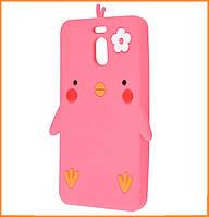 Чехол-накладка TPU Chicken для Meizu M6 Note Pink
