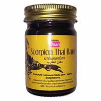 Тайский черный бальзам с ядом скорпиона Scorpion Thai Balm Banna 50грм