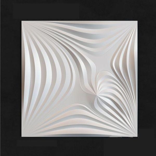 "Пластиковая форма для 3d панелей ""Магия"" 50*50 (форма для 3д панелей из абс пластика)"