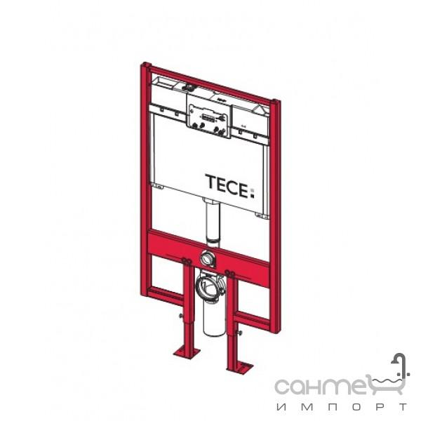 Инсталляционные системы TECE Застенный модуль для установки подвесного унитаза TECE 9.300.040 (плоский, 8 см)