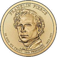 США 1 доллар 2010, 14 президент Франклин Пирс (1853-1857)