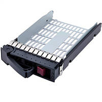 HP DL Proilant ML G5 G6 G7 LFF 3.5 & quot; SAS / SATA HDD Hot Swap HDD Tray HDD Caddy Frame HP 373211-001