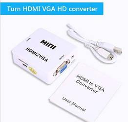 Конвертер HDMI to VGA 1080P