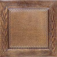 """Пластиковая форма для 3d панелей """"Филенка"""" 40*40 (форма для 3д панелей из абс пластика), фото 1"""