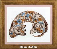 """Набор для вышивания крестом ВТ-208 """"Волшебство орнамента"""" Crystal Art"""