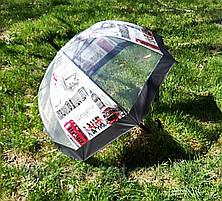 """Зонт-трость прозрачный с изображением """"Лондон"""", фото 3"""