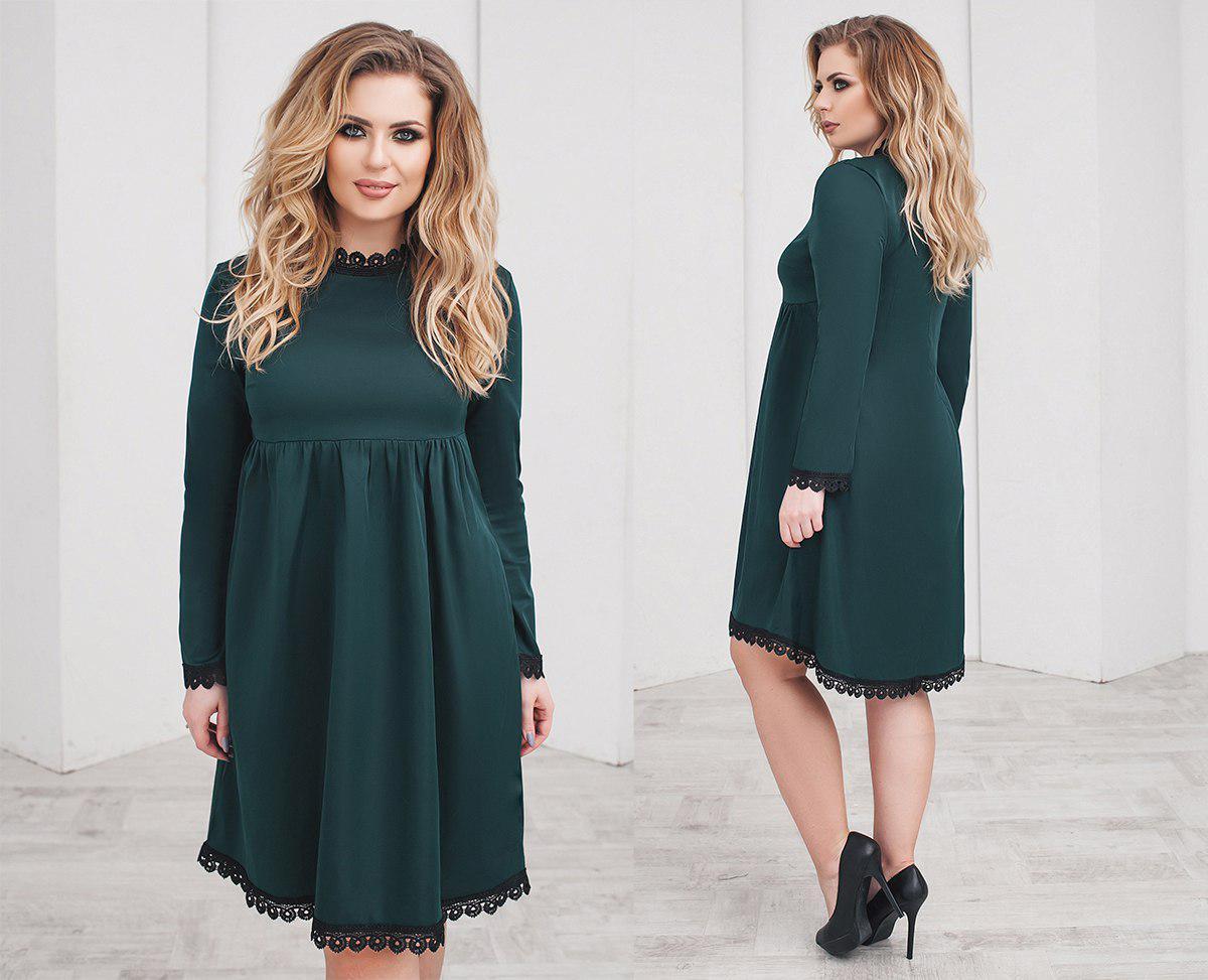 a157284d3d0 Платье отделка кружево в расцветках 32999  Интернет-магазин модной ...