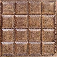 """Пластиковая форма для изготовления 3d панелей """"Шоколад"""" 40*40 (форма для 3д панелей из абс пластика)"""