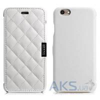 Чехол iCarer Microfiber Check Apple iPhone 6, iPhone 6S White