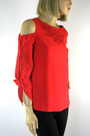 Нарядна блузка з відкритими плечами Moda Mersii, фото 2