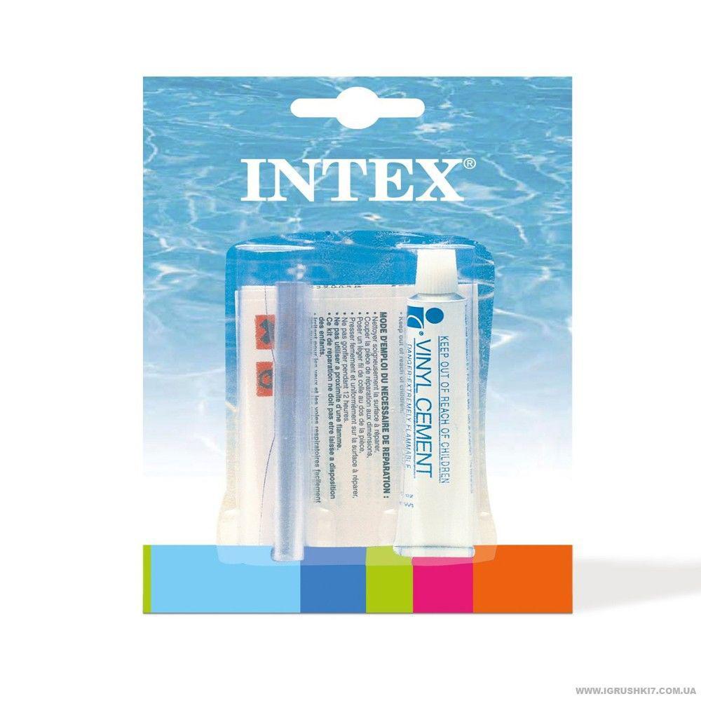 Intex Рем-комплект 59632 NP клей 5-7g+латка, 135 кв/см