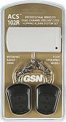 Комплект радиоуправления сигнализацией двухканальный GSN ACS-102R ( приёмник + 2 брелока-передатчика