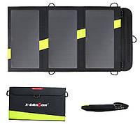 Солнечная панель, универсальное зарядное устройство X-Dragon AllPowers 20W, 2 USB выхода, 5V 2.4A
