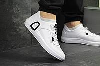 Ecco мужские  кроссовки белые ( Реплика ААА+), фото 1
