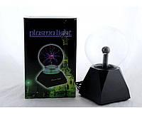 """Ночник  Magic Flash Ball  Плазменный шар 5"""", Светильник Магический шар, Стеклянный шар теслы светильник"""