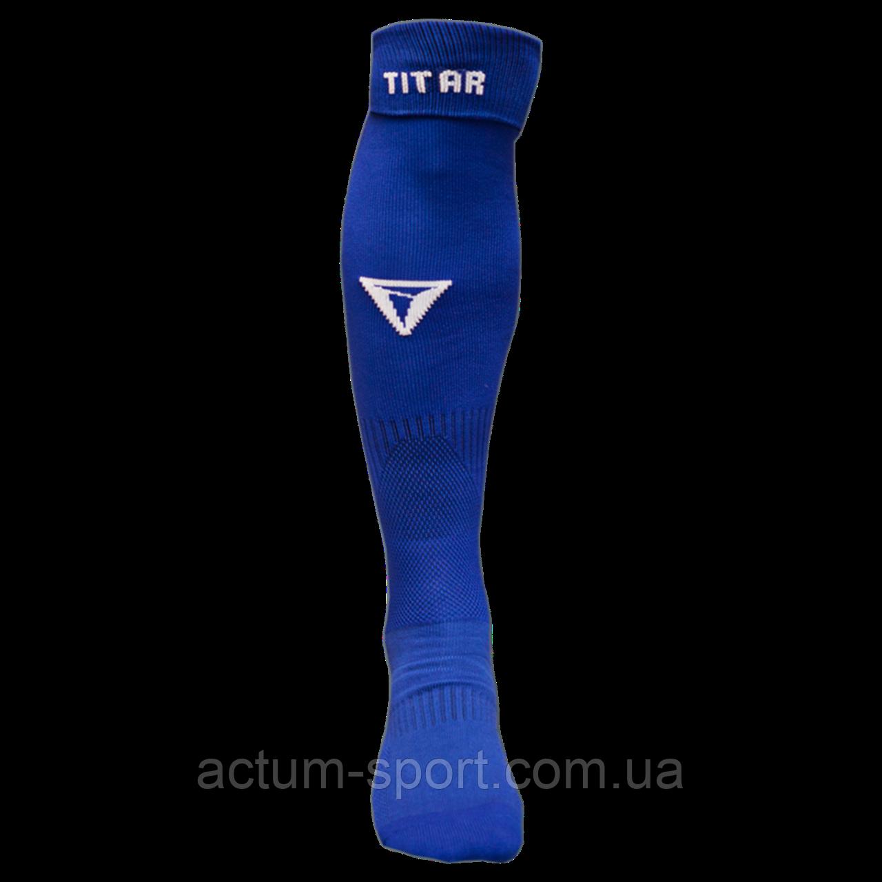 Гетры футбольные Titar синие